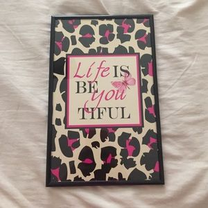 🆕Life is Be You Tiful Picture Frame