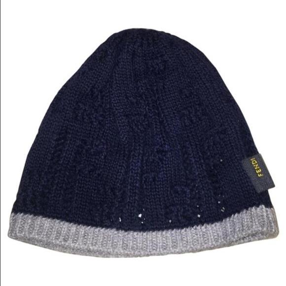 90015ed51b8 Fendi Other - Auth Fendi infant baby boy skull cap hat beanie