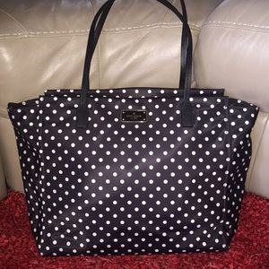 Kate spade baby bag with diaper changing pad