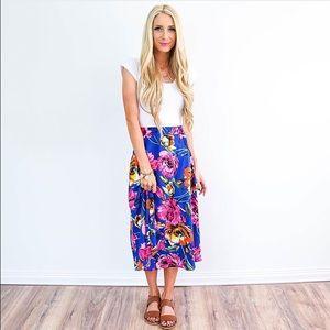 Jeanne Floral Skirt