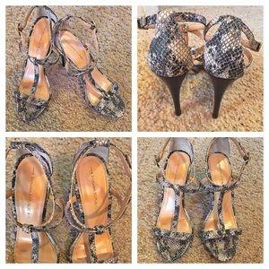 Banana Republic Snakeskin Sandals