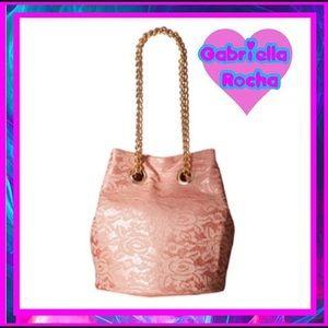 Gabriella Rocha Handbags - BOGO! NWT- Pink Lace Bucket Chain Strap Purse