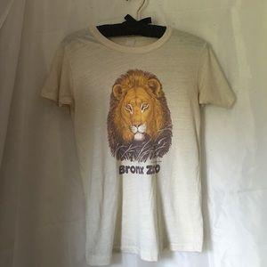 Vintage Bronx Zoo tshirt