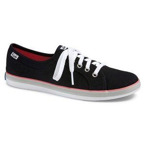 ⬇️ Keds Coursa Black Sneakers