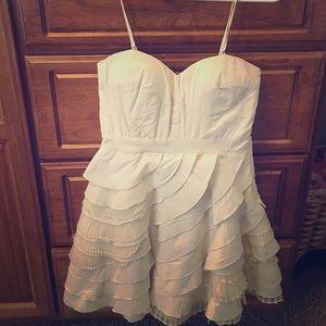 Minuet Dresses & Skirts - ModCloth Baklava Ivory Dress by Minuet NWT Sz M