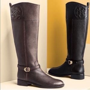 Tory Burch Shoes - Tory Burch chocolate brown boots