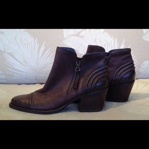 "Paul Green Shoes - PRICE FIRM ""NEW""  GREEN BROWN BOOTIE US SZ 7 A6"