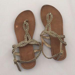Women S Merona Braided Sandals On Poshmark