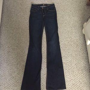 Seven jeans - low-rise boot cut.