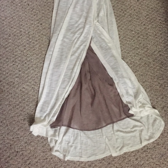 62 off anthropologie dresses skirts white maxi dress for Anthropologie mural maxi dress
