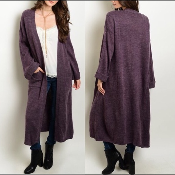 💔LAST ONE💔 Smoke Purple Duster Cardigan from ✨ ⭐️top rated ...