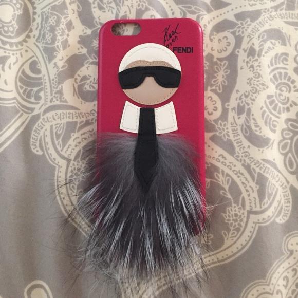 Fendi Iphone Case Karl