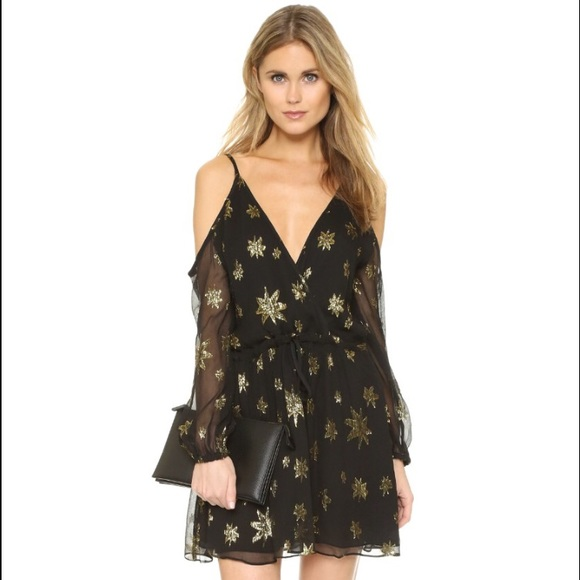 7d0c3041f333 Bec & Bridge Dresses | Nwt Bec Bridge Astral Shoulder Baring Dress ...