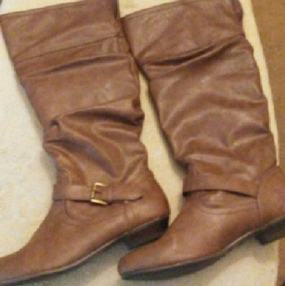 64 Off Faded Glory Shoes Brown Boots From Elizabeth S