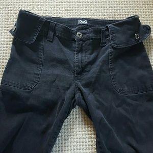 Dolce & Gabbana black jeans size IT 42/ US 28