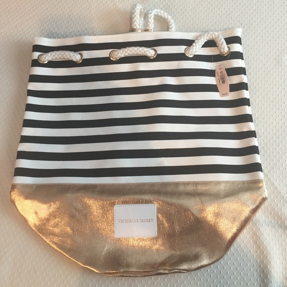 Victoria's Secret Handbags - Victoria's Secret Bling Striped Purse