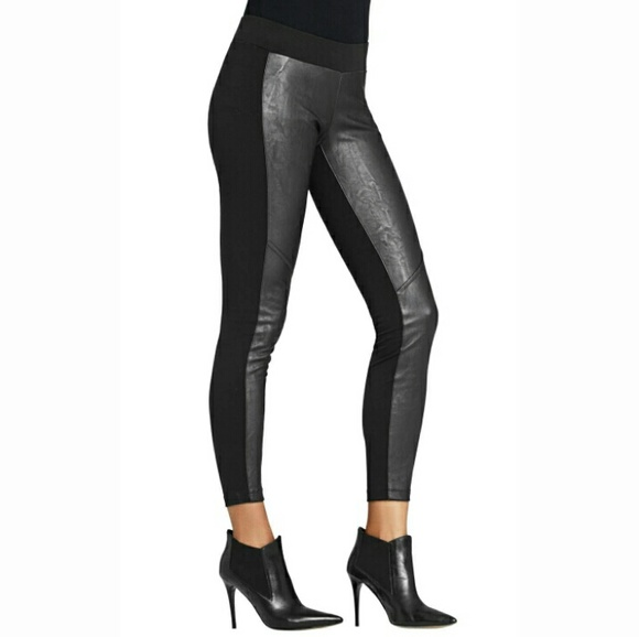 04a01b80eaf5d CAbi Pants | Vegan Faux Leather Black Leggings New Stevie | Poshmark