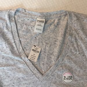 Pink Victoria's Secret V- Neck T- Shirt