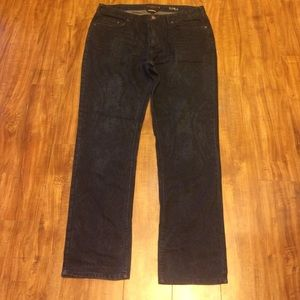 Black Brown 1826 Other - Black Brown 1826 Men's Straight Fit Paisley Jeans