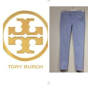  Tory Burch Tab Front Super Skinny Jeans Size 25