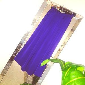 Laundry by Shelli Segal - Purple Maxi Skirt