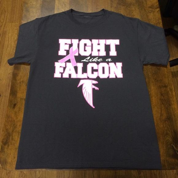 online store 0ebe6 99f19 Atlanta Falcons Breast Cancer Awareness T-Shirt