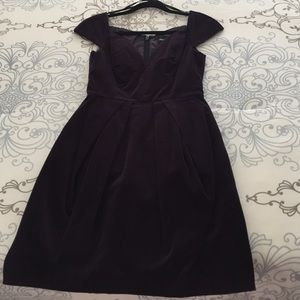 Asos Velvet evening dress size 4