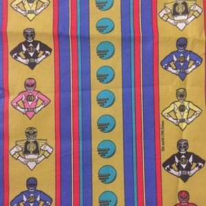 Power Ranger Accessories - VTG Power Rangers Fabric Panel