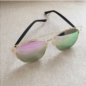 Accessories - Pink and Gold Sunglasses