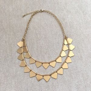 Jewelry - Geometric Gold Necklace