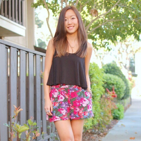 Urban Outfitters Shorts - Like NEW Kimchi Blue bright floral skorts