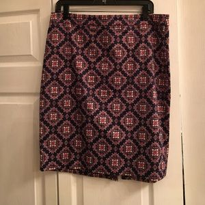 Size 12 J. Crew Pencil Skirt