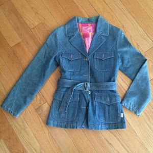 Jackets & Blazers - Blue jeans Trench Coat