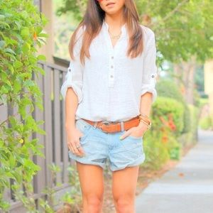 Urban Outfitters Tops - Like NEW cotton white Bahama shirt