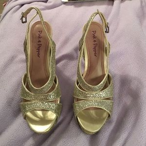 Gold sequence heels