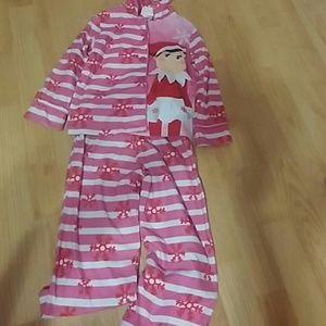 Elf on the Shelf pajamas set