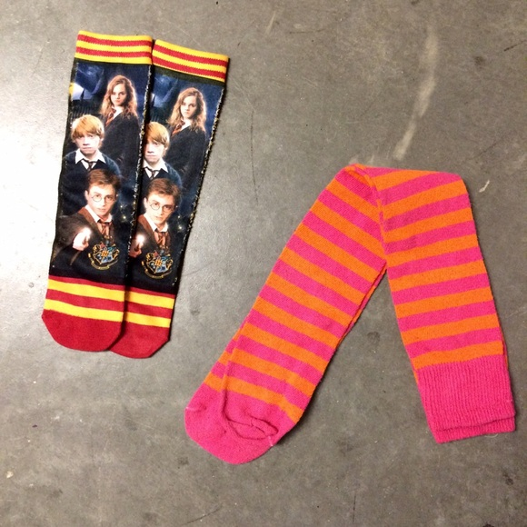 Accessories Last Chanceharry Potter And Striped Wizard Socks