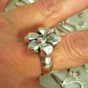 King Baby Studio Jewelry - Queen Baby King Baby Flower  Ring