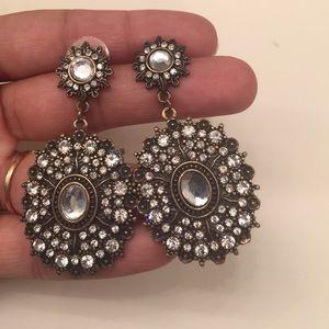 Antique look earrings