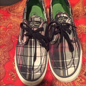 Sperry Top-Sider Shoes - Plaid Sperry Top-Sider boat shoes