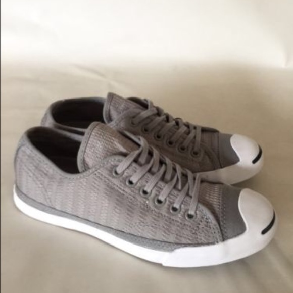 f3af65c373b2 Converse Shoes - Jack Purcell for Converse Textured Grey Sneakers