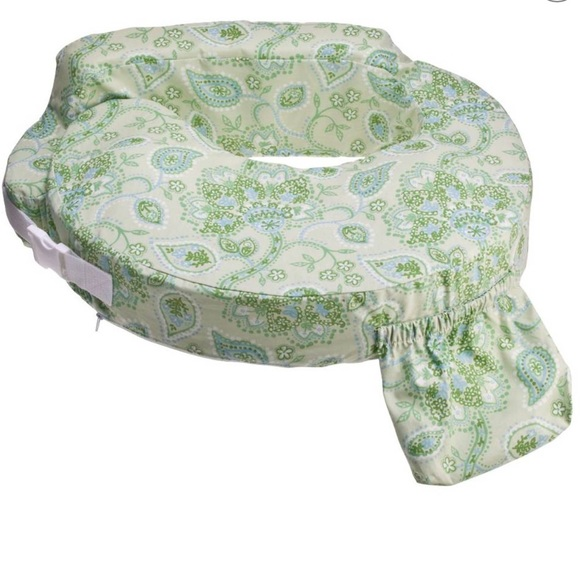 my best friend nursing pillow slip cover paisley