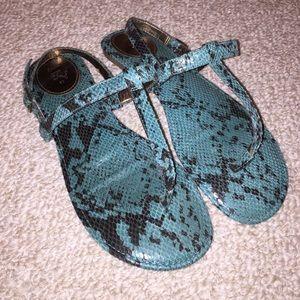 Zara T-Strap sandals