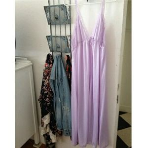 Vintage Lavander Night Gown