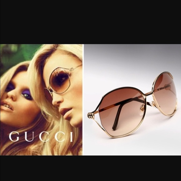 14582465ce4 Gucci Accessories - Gucci 2846 S Purple   Gold Sunglasses