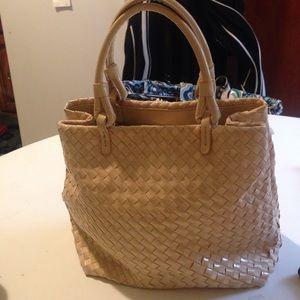 Missoni Handbags - Authentic patten leather  & canvas bag