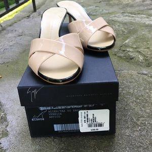 Giuseppe Zanotti Shoes - Giuseppe Zanoti patent mules