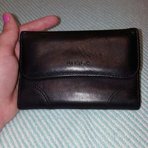 Bosca Handbags - Soft leather Bosca wallet