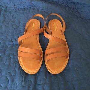 Bamboo Shoes - Brand New Bamboo Flat Tan Sandals