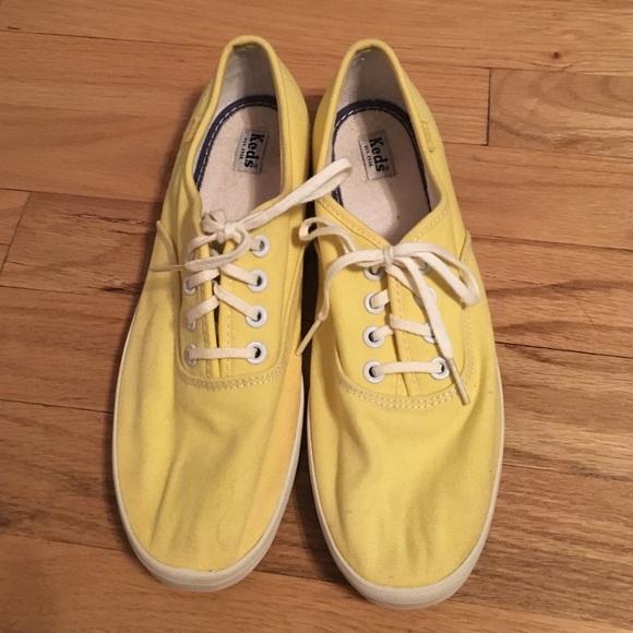 Keds Shoes   Yellow Sneakers   Poshmark